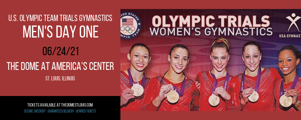 U.S. Olympic Team Trials Gymnastics - Men's Day One at The Dome at America's Center